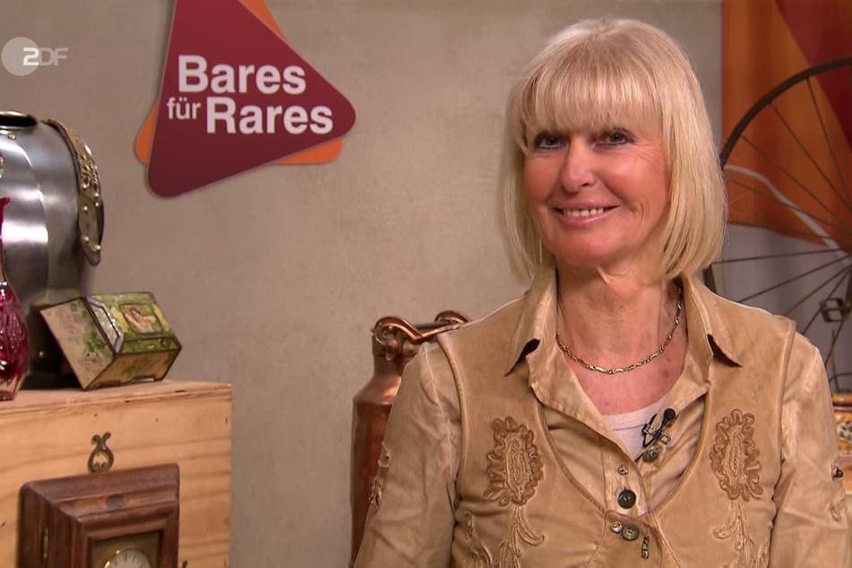 """Bei """"Bares für Rares"""" hat Kandidatin Angelika Koplin-Hörnemann (66) am Freitag eine alte Damenuhr der Edelmarke Rolex dabei."""