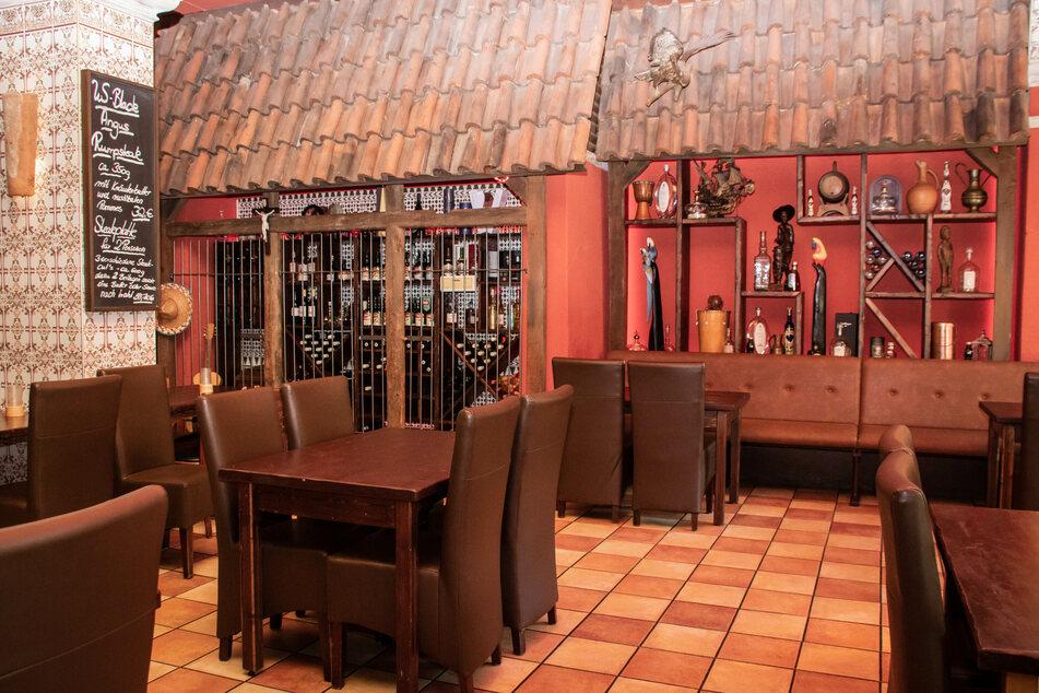 """Bequeme Stühle sorgen neben gutem Essen für eine schöne Zeit im """"El Rodizio""""."""