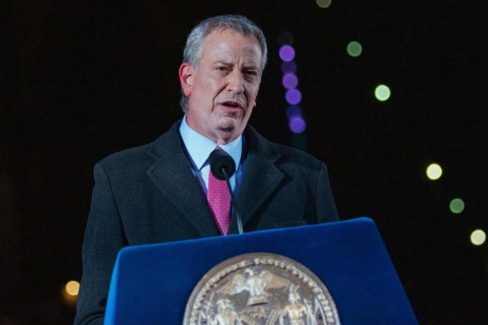New Yorks Bürgermeister Bill de Blasio (60).