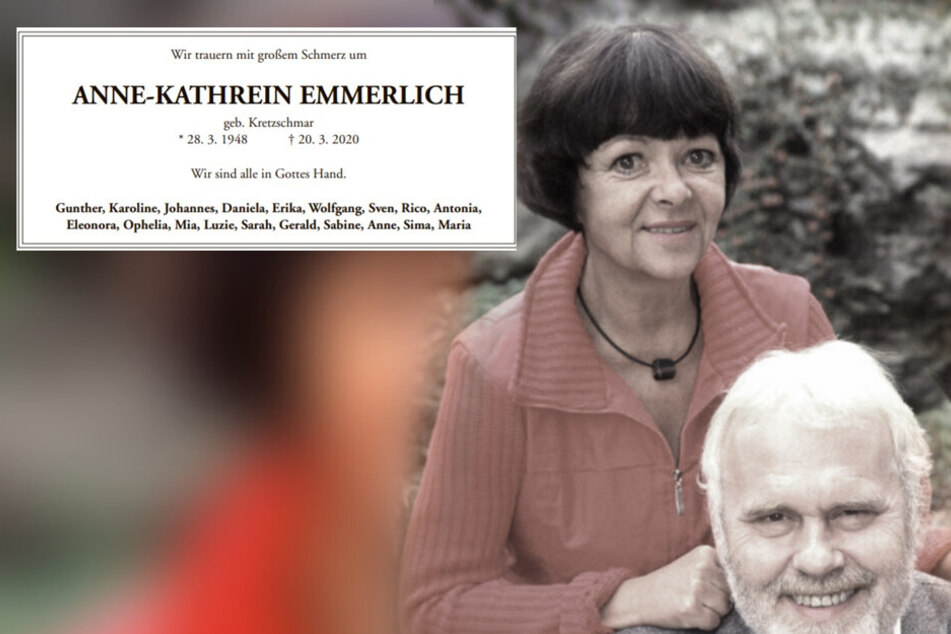 Anne-Kathrein Emmerlich verstarb im Alter von 71 Jahren.
