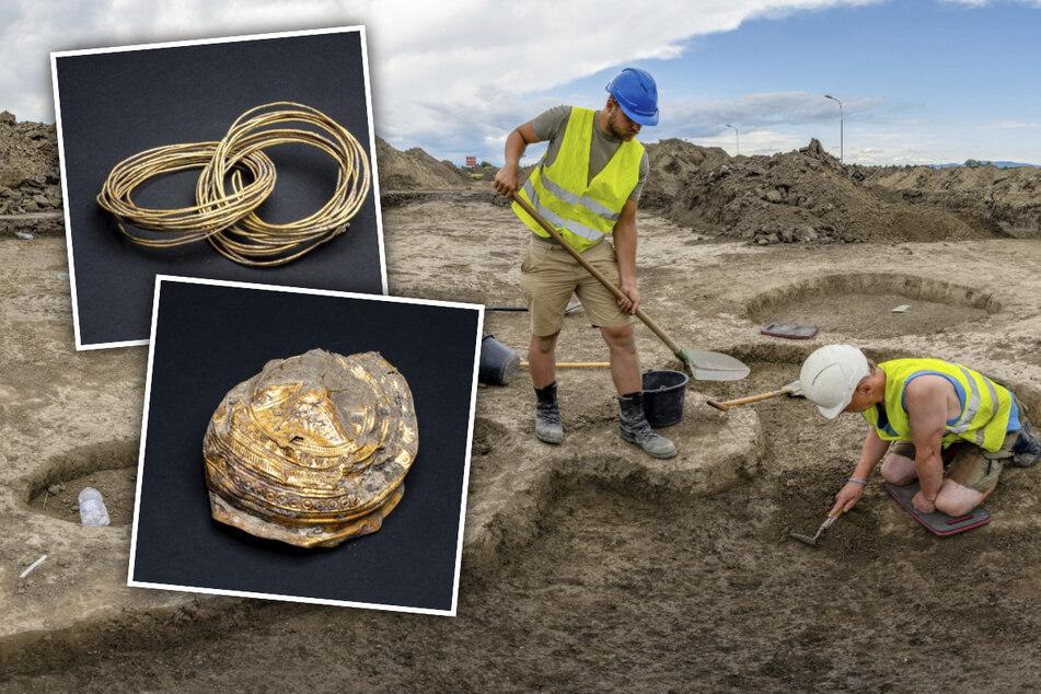 Spektakulärer Fund: 3000 Jahre alter Goldschatz entdeckt