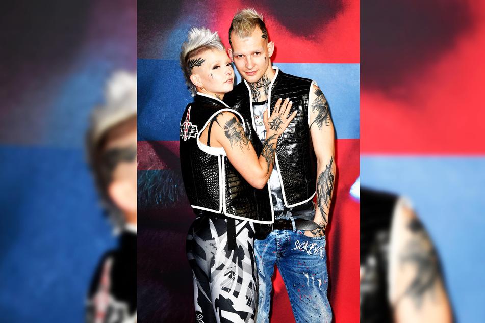 So zeigten sich Eric (30) und Edith Stehfest (23) im neuen Partner-Look.