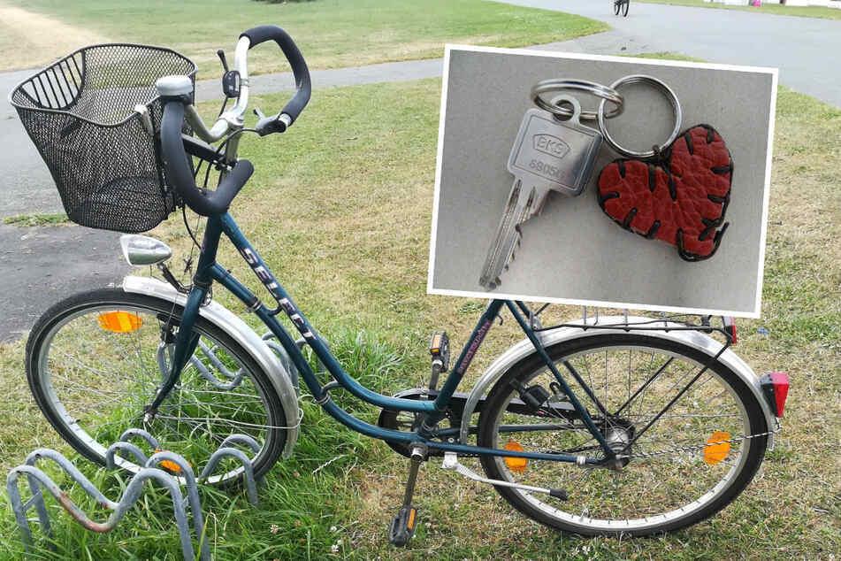 Die Polizei fand ein Fahrrad und einen Schlüssel nahe der Unglücksstelle.