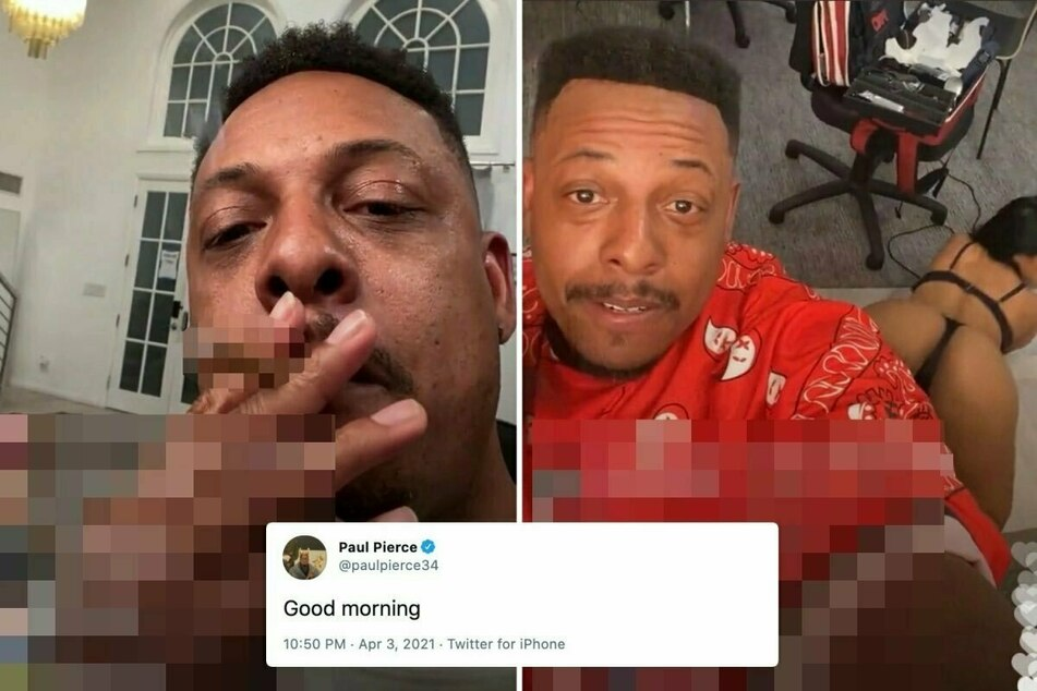 Celtics legend Paul Pierce loses his inhibitions on Instagram Live – and his job at ESPN