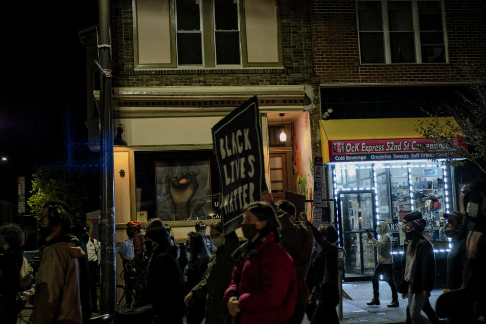Protests in Philadelphia after police shooting of Black man