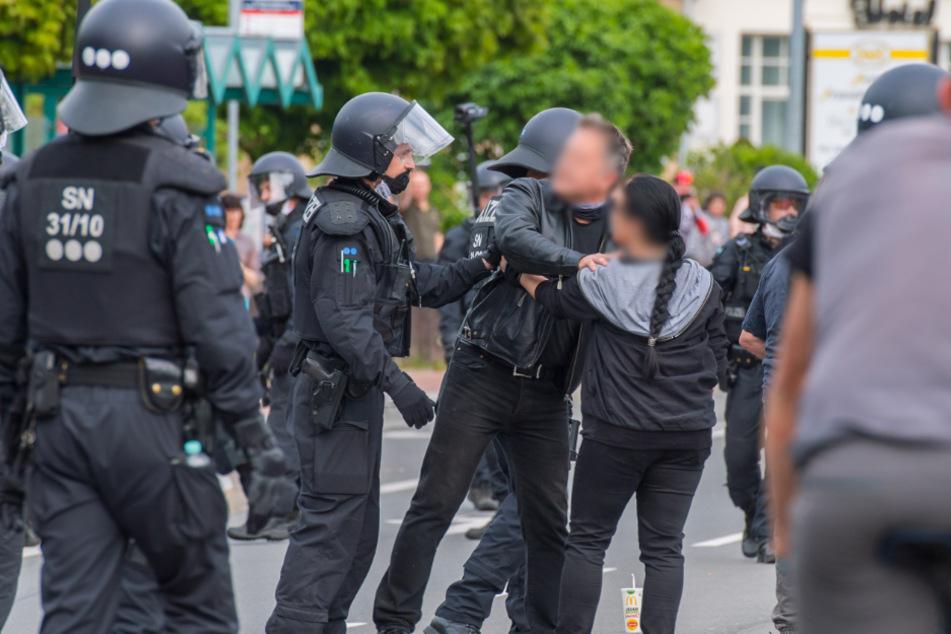 Polizei-Einsatz bei Demos: Für den Job ist eine stabile Psyche Voraussetzung.
