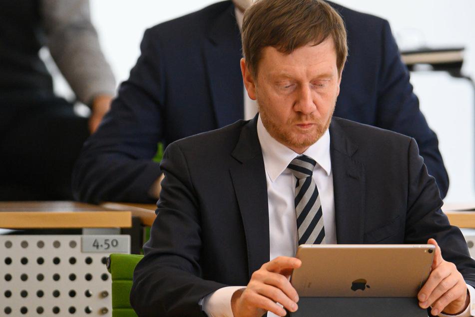 "Öffnen die Geschäfte in Sachsen? Kretschmer äußert sich positiv zu ""Click & Meet""!"