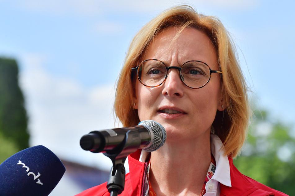 Buga-Geschäftsführerin Kathrin Weiß will über eine Million Besucher bei der diesjährigen Bundesgartenschau sehen.