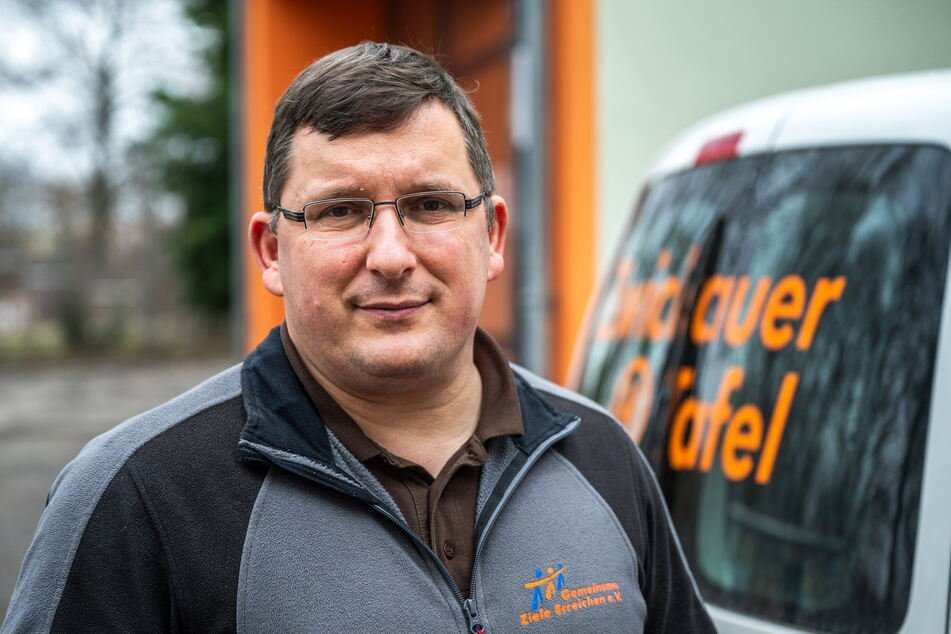 Tafel-Chef Jens Juraschka (46) sucht ein größeres Gebäude.