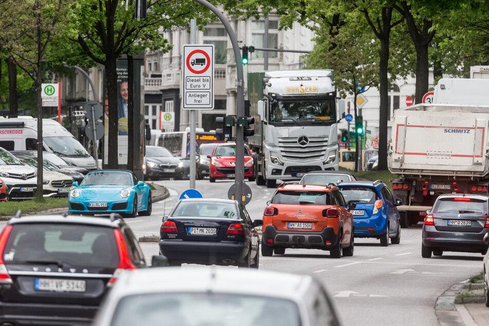 Auch die Hansestadt Hamburg muss ihre Luftreinhaltepläne überarbeiten.
