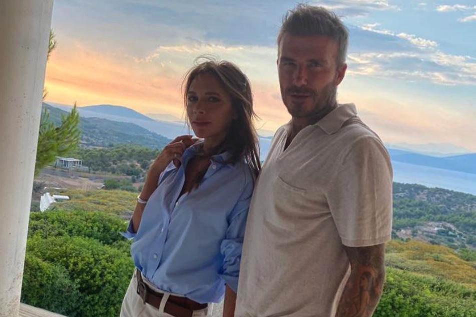 Victoria and David Beckham had the coronavirus.