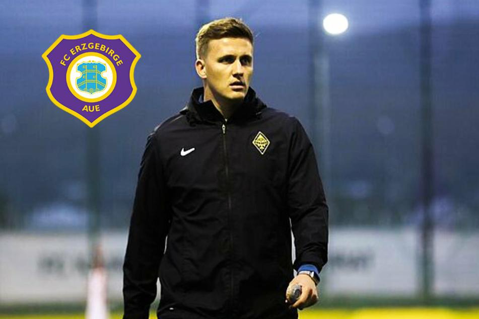 Er ist der neue Trainer des FC Erzgebirge Aue!