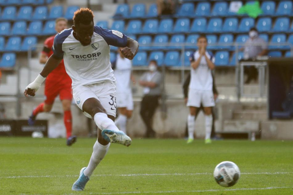 Treffsicher: Silvère Ganvoula (24), aktuell noch im Trikot vom VfL Bochum.
