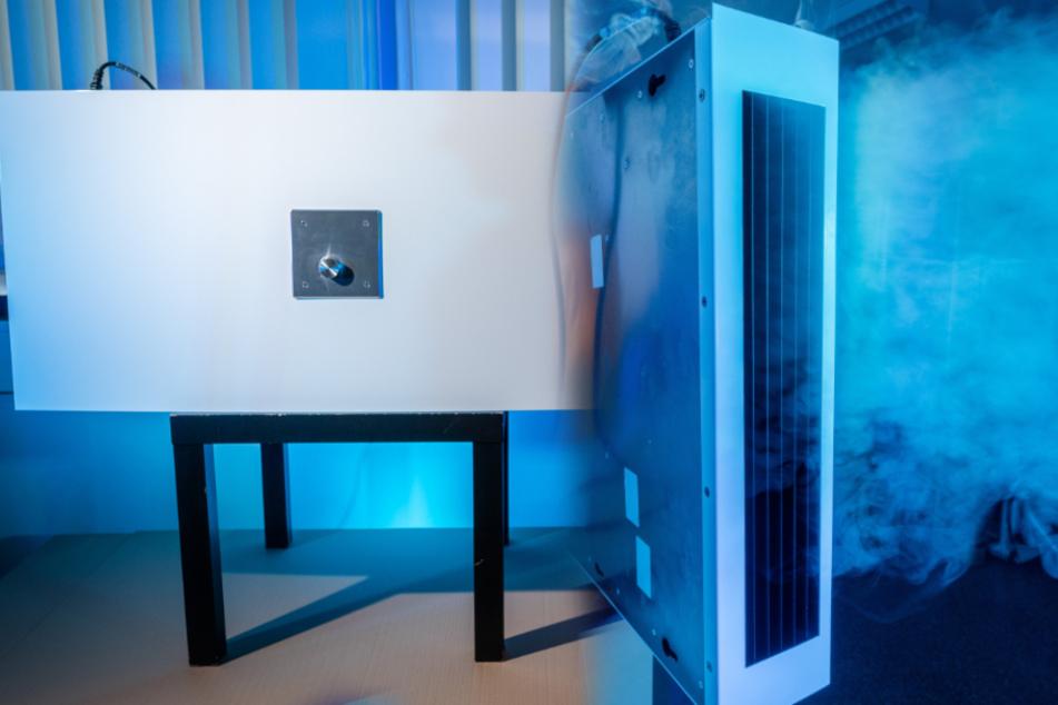 Technik-Neuheit aus Sachsen: Dieser Reiniger filtert Coronaviren aus der Luft