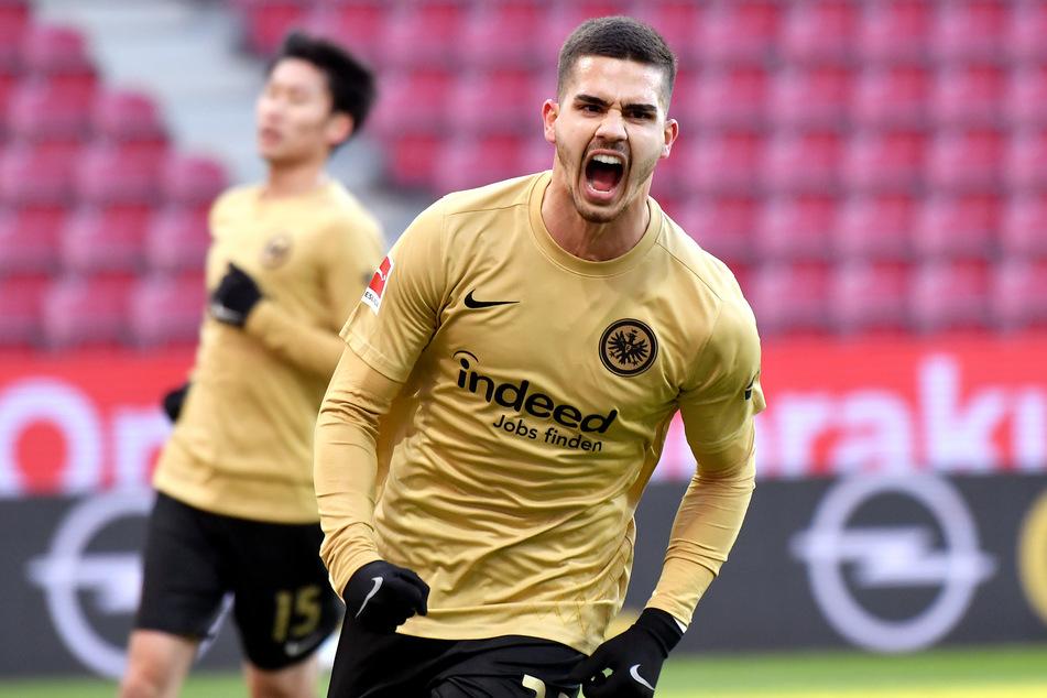Stürmer André Silva (25) erzielte bislang 25 Tore für Eintracht Frankfurt und gilt als absoluter Leistungsträger.