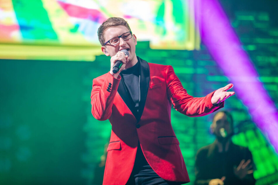 """""""The Voice""""-Sieger Samuel Rösch (26) kann jetzt sein erstes Album produzieren."""