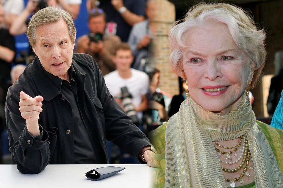 Rechts: Schauspielerin Ellen Burstyn (88). Links: Regisseur William Friedkin (85), der für den Originalfilm verantwortlich zeichnete.