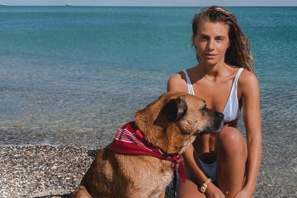Reise-Influencerin adoptiert aggressiven Straßenhund: So geht es dem Vierbeiner jetzt
