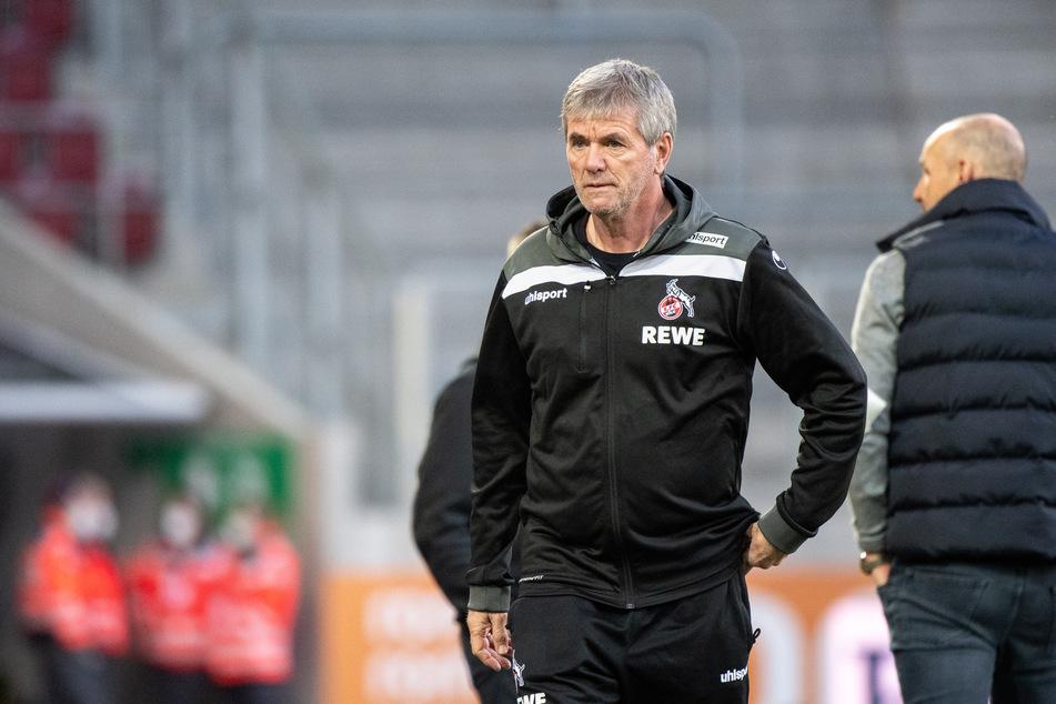 """Noch ist Friedhelm Funkel (67) Trainer der """"Geißböcke"""". Bald jedoch wird Steffen Baumgart ihn ablösen."""