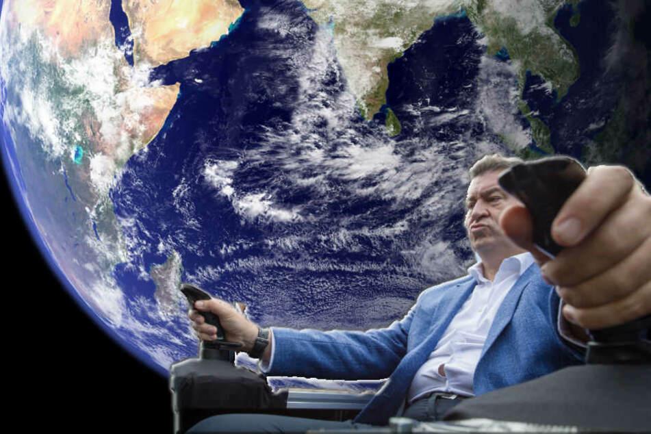 Weltraumbahnhof, Cookie-Revolution und Perso als App: CSU versucht sich in Digitalisierung