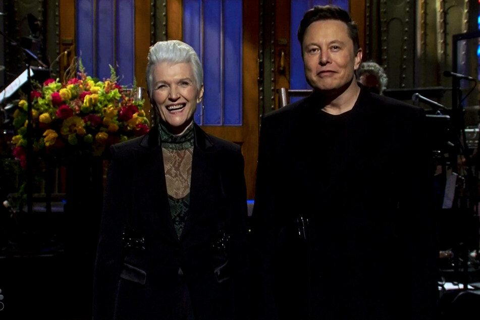 Maye Musk also made an appearance during her son's opening monologue.
