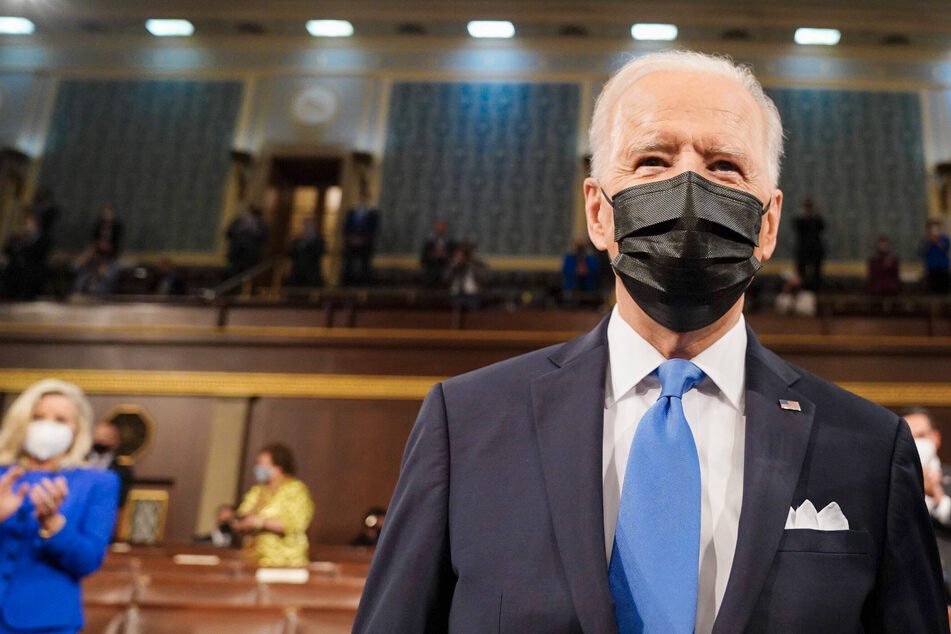 Joe Biden pushes hope and big policy proposals in first joint address to Congress