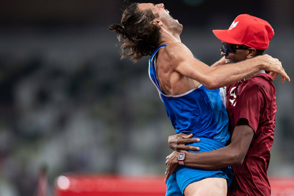 Olympics: Italian and Qatari athletes share high-jump gold after years of friendship