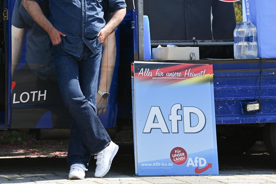 In Sachsen-Anhalt wurde natürlich mit Plakaten Werbung für die AfD gemacht. Nicht jedoch mit dem, das im Netz aktuell stark verbreitet wird (Symbolbild).