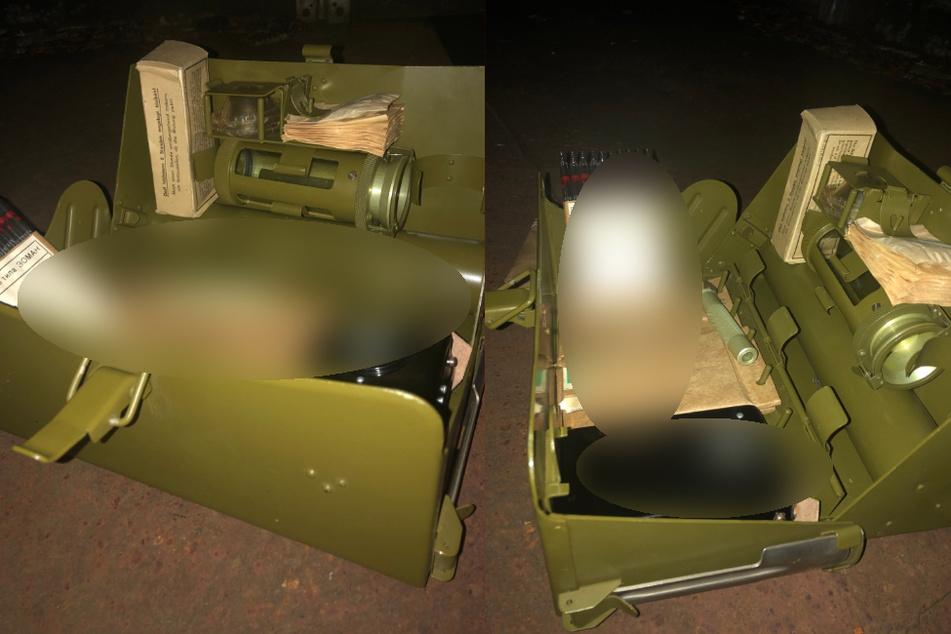 Mann entdeckt beim Gassigehen russische Militärkiste mit verdächtigem Inhalt