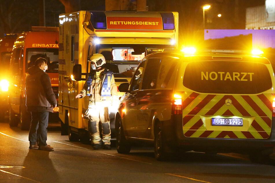Dresden: Alarmierender Anstieg! Jeden Tag ein Übergriff auf einen Retter