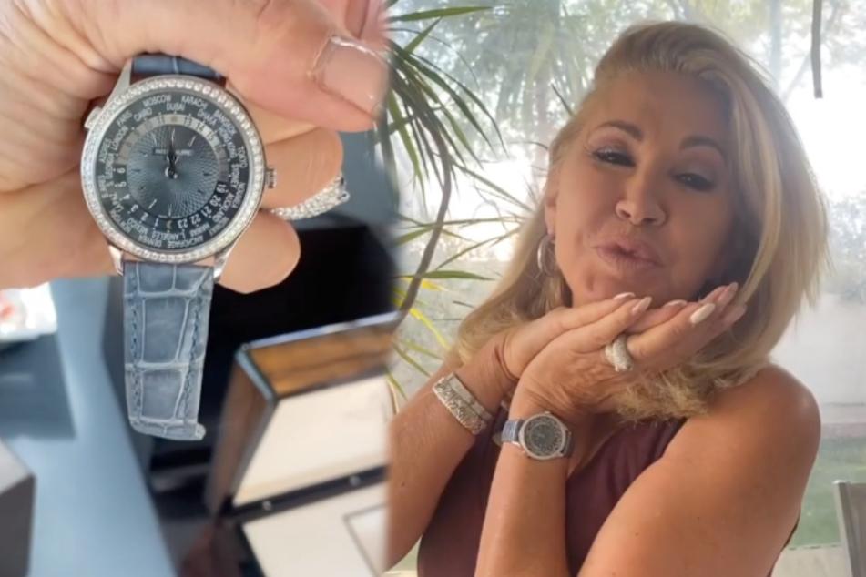 Carmen Geiss bekommt dekadente Luxus-Uhr: Der Preis ist heftig