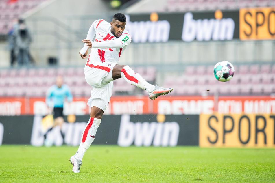 Anthony Modeste (32) steht in der Startelf des 1. FC Köln gegen den VfL Osnabrück.