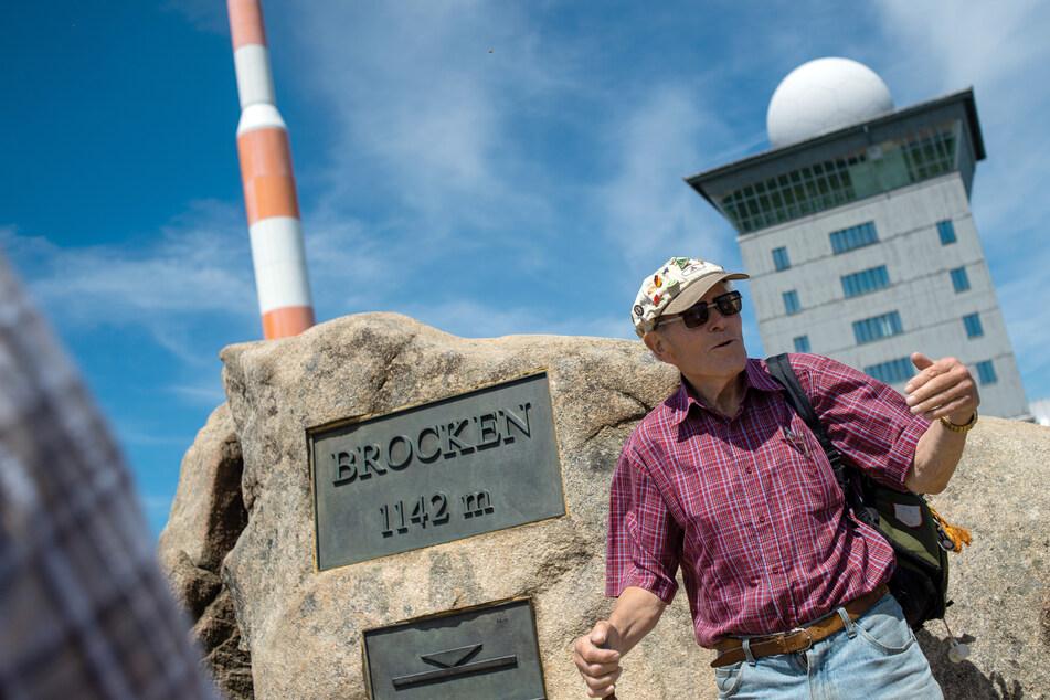 """Am 88. Geburtstag: """"Brocken-Benno"""" steigt zum 8888. Mal auf den Berg"""