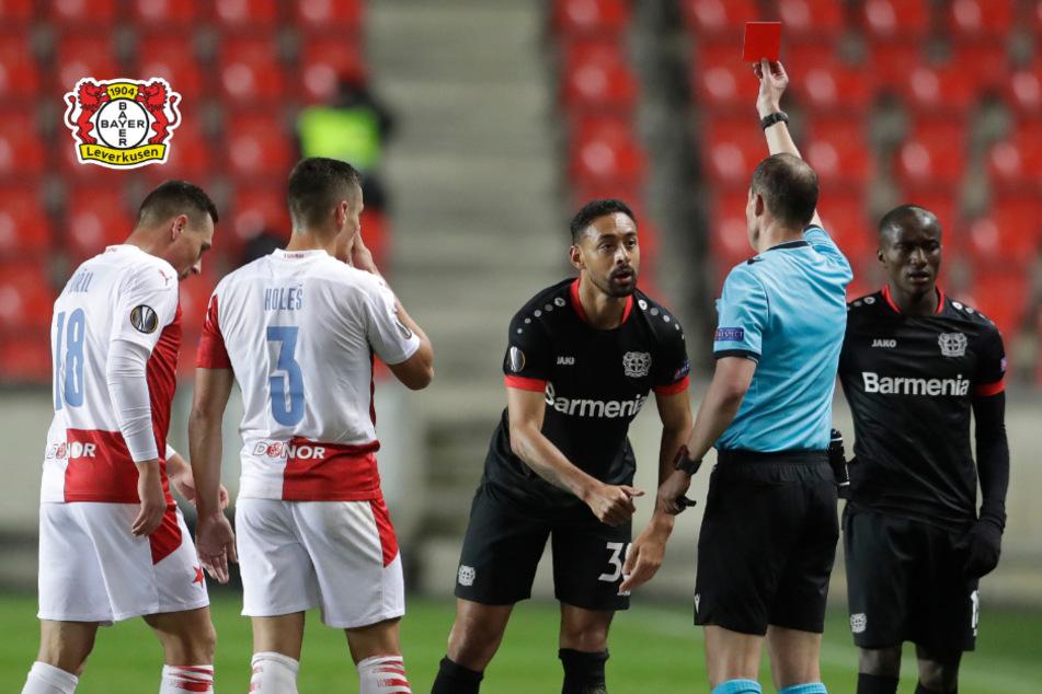 Umstrittene Rote Karte sorgt für Wut bei Bayer Leverkusen!