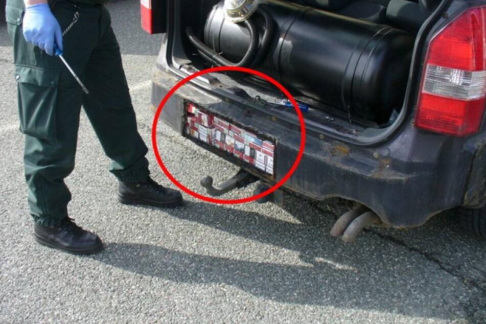 Zoll findet DAS im Unterboden eines polnischen Autos