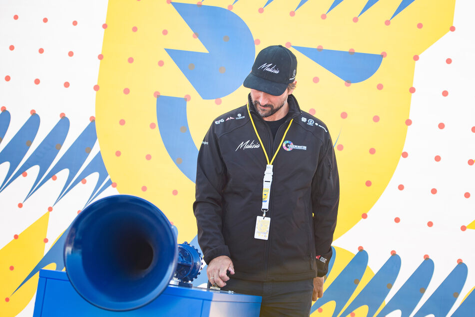 Boris Herrmann (40) eröffnet mit dem Typhon die Kieler Woche 2021.