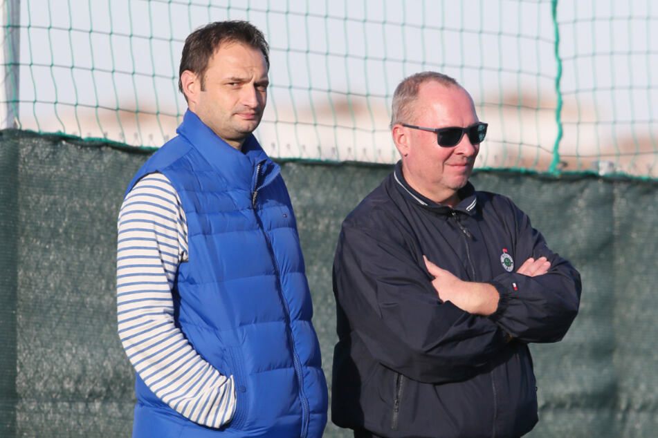 Nah dran an FCE-Boss Helge Leonhardt: André Fontana.