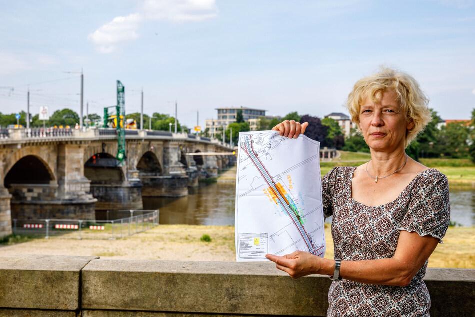 Bauamtsleiterin Simone Prüfer (56) hat die Pläne für den letzten Teil der Sanierung vorgestellt.