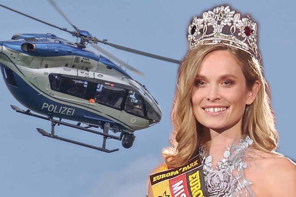 """Ex-Miss-Germany aus Dresden träumt bei der Polizei vom """"Arbeitsplatz in der Luft"""""""