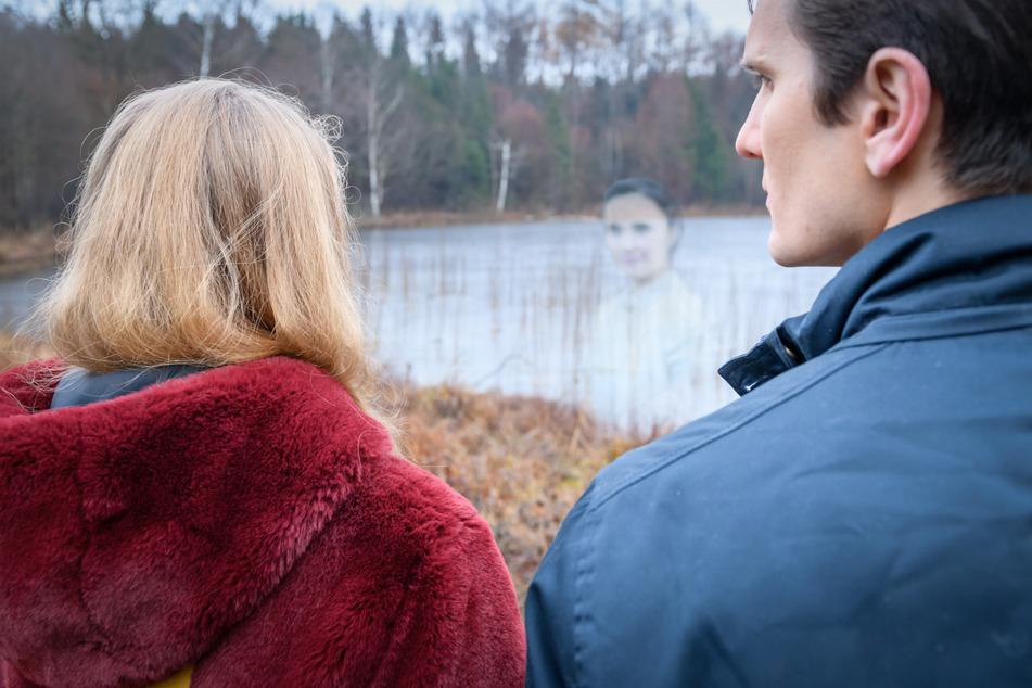 """""""Sturm der Liebe"""": Lucy sieht ihre verstorbene Schwester Romy."""