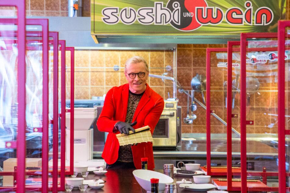 Sushi-Fans ganz scharf auf Wolles Röllchen-Kurs