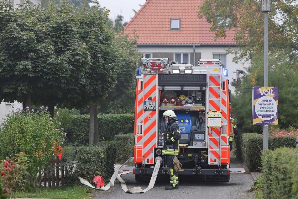 Die Feuerwehr musste am Samstag in den Grimmweg ausrücken.