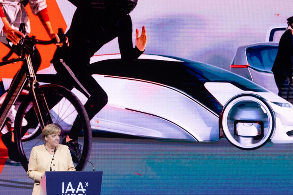 Angela Merkel hielt bei der Eröffnung der IAA sogar eine Ansprache.