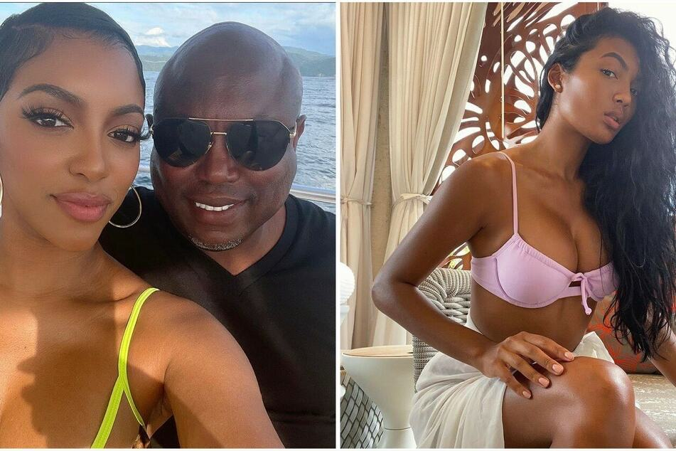 Does Real Housewives' Falynn Guobadia blame Porsha William for her split from Simon?