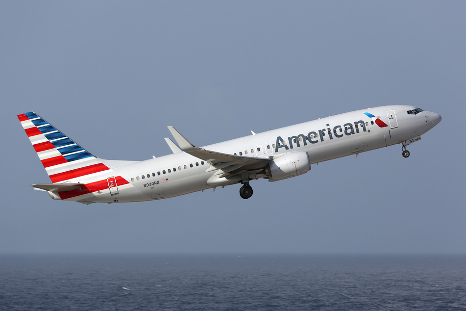 American Airlines will now be delivering its onboard wines straight to customers' homes (stock image).