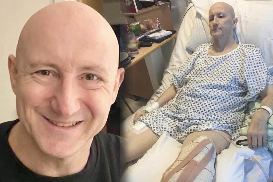 Dave Mears hat sein linkes Bein verloren. Ob dies mit der AstraZeneca-Impfung zusammenhängt, können Ärzte nicht bestätigen - aber auch nicht ausschließen.