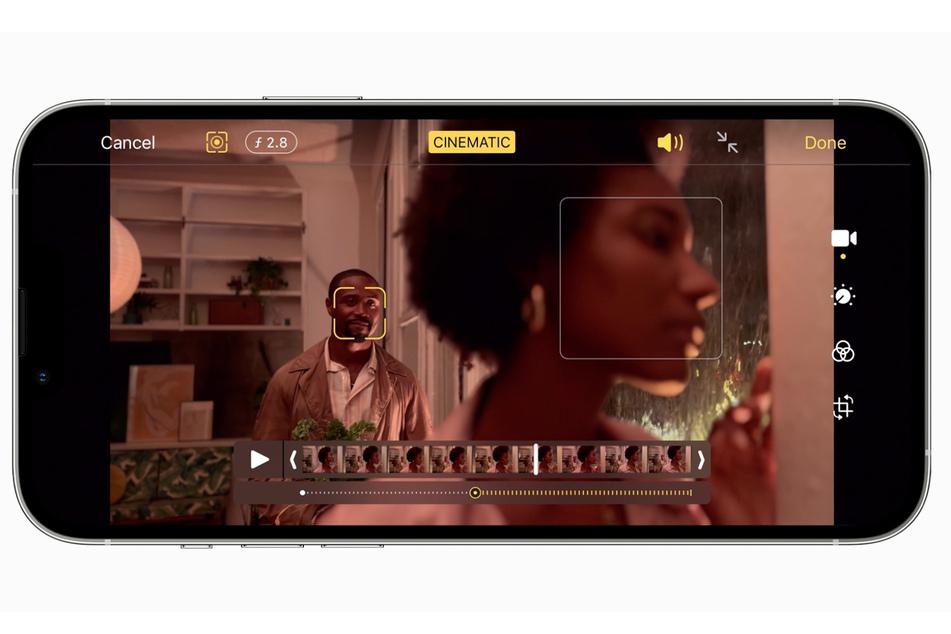 """Apple will mit einem neuen """"Cinematic""""-Videomodus überzeugen."""
