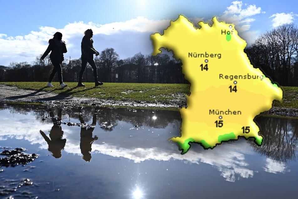 Ab Donnerstag zeigt sich in Bayern immer öfter die Sonne.