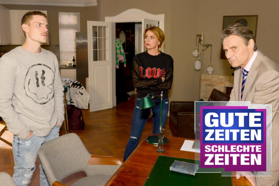 GZSZ: GZSZ: Gerner hat die Beweise! Geht's Moritz jetzt an den Kragen?