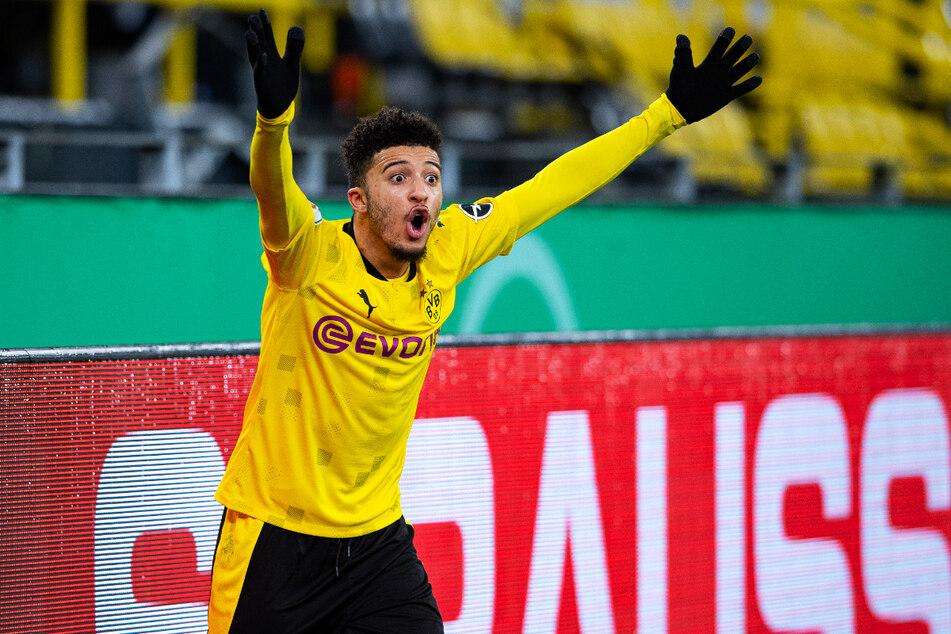 BVB-Flügelflitzer Jadon Sancho (20) hat in dieser Saison in 31 Einsätzen zwölf Tore erzielt und 16 weitere direkt vorbereitet.